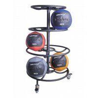 Wall-ball-rack