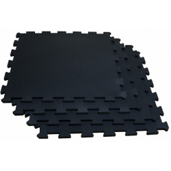Inter locking mats black (set van 4)