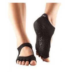 Toesox Bellarina sokken zonder tenen | Zwart