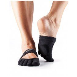 ToeSox Dans Sokken met Tenen Releve | Zwart S/M/L