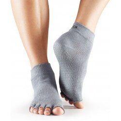 Toesox Sokken zonder tenen |  Grijs