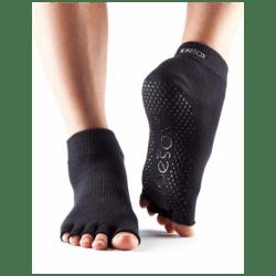Toesox Sokken zonder tenen |  Zwart