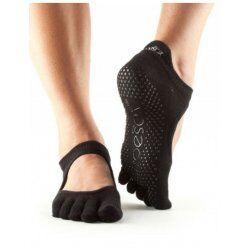 Bellarina sokken met tenen | Zwart