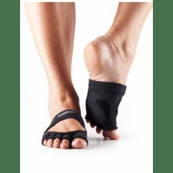 Toesox dans sokken zonder tenen Releve - Zwart S/M/L