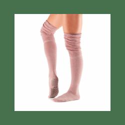 Tavi Noir sokken dicht over knie blush | Oud roze