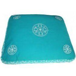 Zabuto Meditatiekussen 80x70x7cm Turquoise