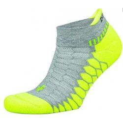 Balega Silver Sportsok Grijs-Lime groen