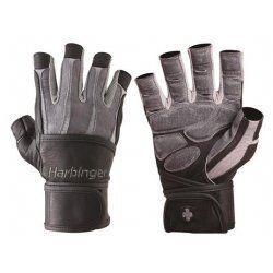 Harbinger BioForm WristWrap handschoen grey-black