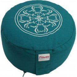Meditatiekussen Flowee Turquoise