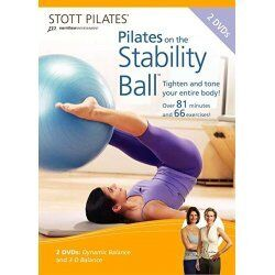 Stott Two-Pack DVD - Pilates On The Stability Ball