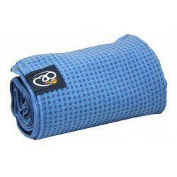 Anti slip handdoek mat Blauw