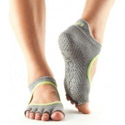 ToeSox Bellarina Zonder Tenen In Heather/Lime L