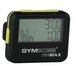 Gymboss minimax interval timer