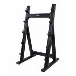 Barbell rack for 5 pcs (black) LMX1066