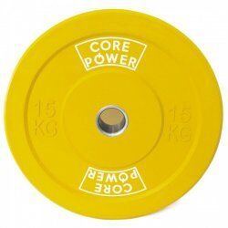Olympic Bumper Plate 15 kg Core Power
