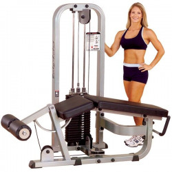 Pro Clubline Leg Curl Machine SLC400G95 kg gewichtenstapel