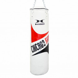 Hammer Bokszak Chicago Fight white 100 x 30 cm