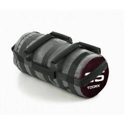 Toorx Powerbag 25 kg met 7 hendels - grijs - bordeaux