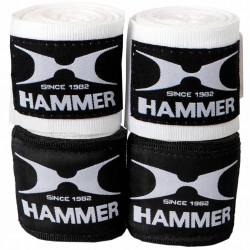 Hammer Boxing Bandages - per Paar2,5 meter - zwart