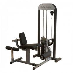 Body-Solid LEG EXTENSION & LEG CURL met 95 kg gewichtstapel