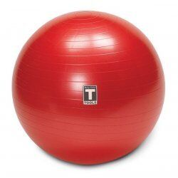Body-Solid Anti-Burst Gymball BSTSB - inclusief handpomp65 cm Rood
