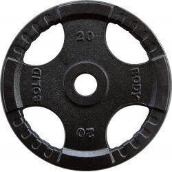 Body-Solid Olympische gietijzeren halterschijven 50 mm OPTK20 KG