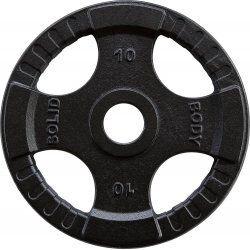 Body-Solid Olympische gietijzeren halterschijven 50 mm OPTK10 KG
