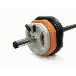 Toorx Bodypump Halterschijven - per 4 stuks4x 1.25 kg grijs