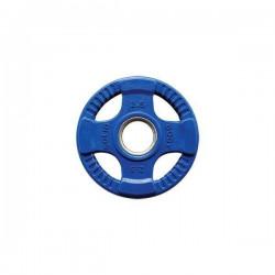 Body-Solid Gekleurde Rubberen Olympische Halterschijven 50 mm ORCK - per stuk2.50 kg - Donkerblauw