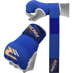RDX Hosiery Inner Strap - Binnenhandschoenen met polsbandBlauw - Maat: XL