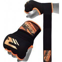 RDX Hosiery Inner Strap - Binnenhandschoenen met polsbandOranje - Maat: XL