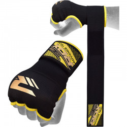 RDX Hosiery Inner Strap - Binnenhandschoenen met polsbandBlauw - Maat: L
