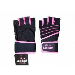 Fitness Handschoenen dames Legend Grip Roze - Maat: XL