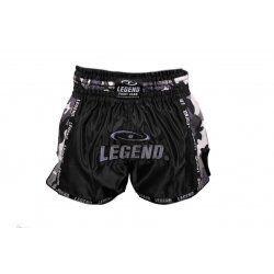 Kickboks broekje camo grijs Legend Trendy  - Maat: L