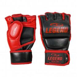 leren Bokszak - MMA Handschoenen Legend met duim - Maat: L