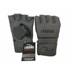 MMA/Bokszak handschoenen Legend Flow Mat Zwart - Maat: L