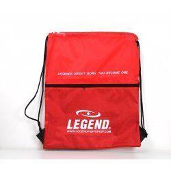 Handige sporttas met vakje Rood - Default