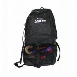 Sporttas Legend aanpasbaar backpack tas 2 in 1 zwart - Default