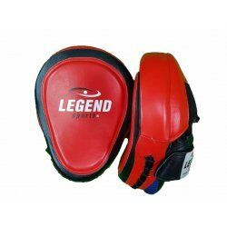 Focus Pads leder Heavy Duty Gel Rood - Default